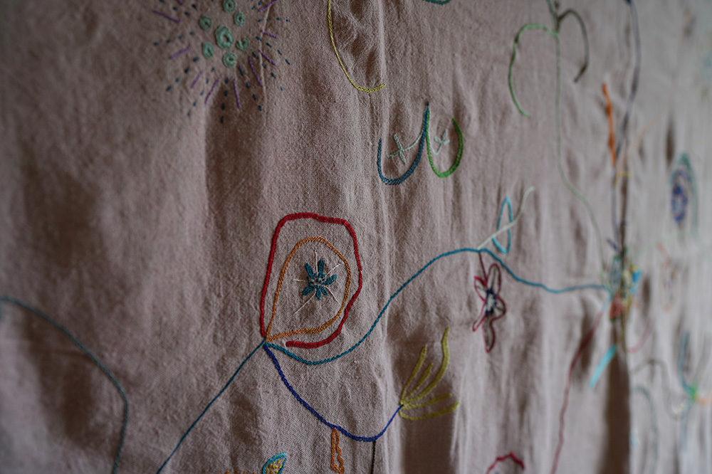 2019.07.19 fri.-28 sun.ケニア・キリフィの刺繍家「Dhahabu(ダブ)」作品展